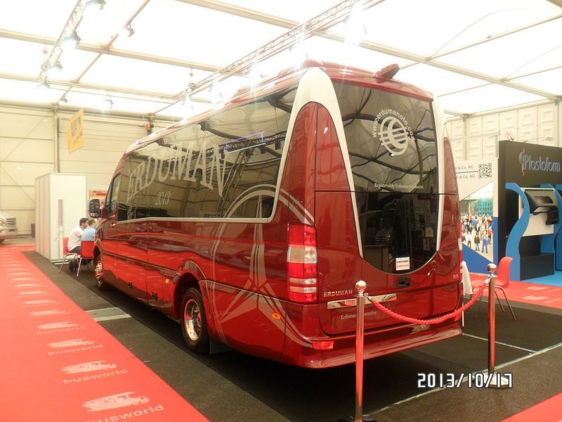 нов пътнически бус MERCEDES-BENZ SPRINTER LUXUS - ERDUMAN