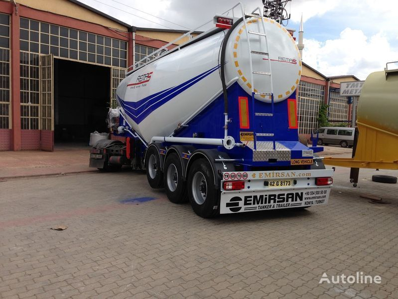 цистерна циментовоз EMIRSAN Manufacturer of all kinds of cement tanker at requested specs