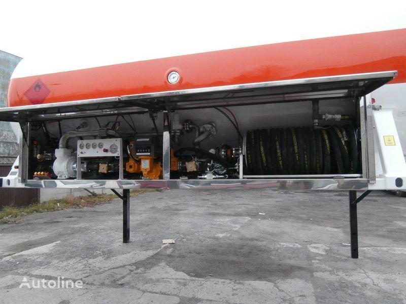 цистерна за газ LDS сменное шасси