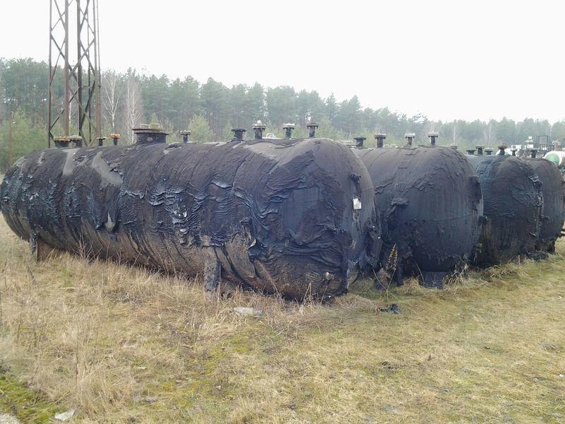 цистерна за газ LPG TANKERS 25000L  4 UNITS