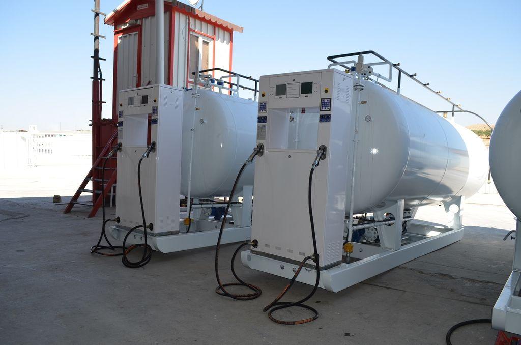 нов цистерна за газ YILTEKS LPG skid Tank