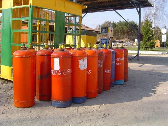 цистерна за газ ЗБА LPG cylinders PROPAN BUTAN