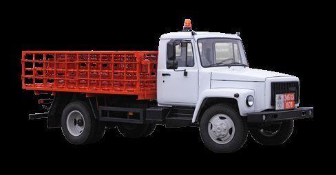 нов бордови камион ГАЗ КТ-602-01