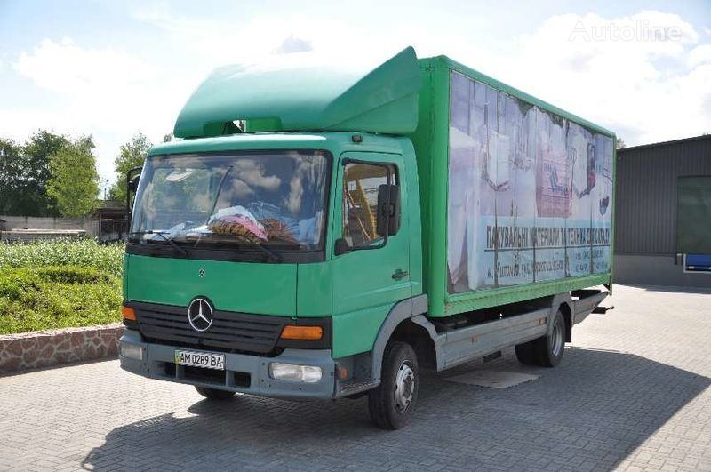 камион фургон MERCEDES-BENZ Altego 815