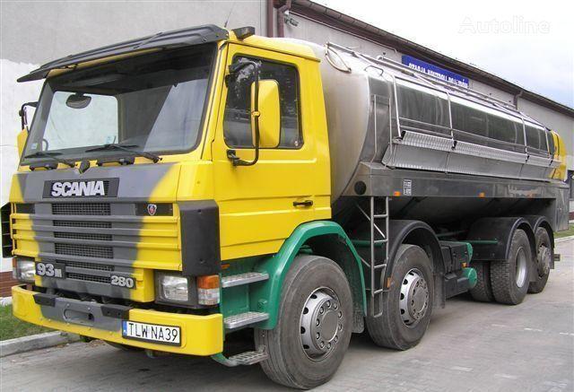 камион млековоз SCANIA 93M Cysterna Spożywcza