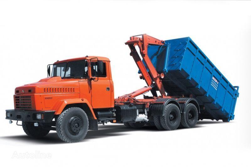 камион мултилифт с кука КРАЗ 65053 МПР-1