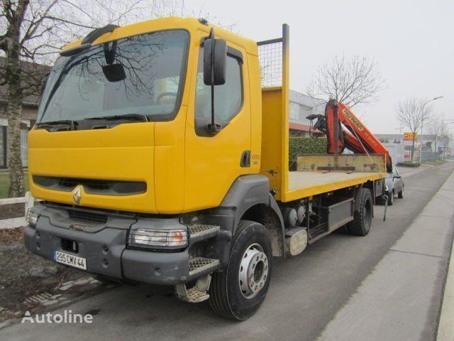 камион платформа RENAULT KERAX 340 PALFINGER PK - 12080