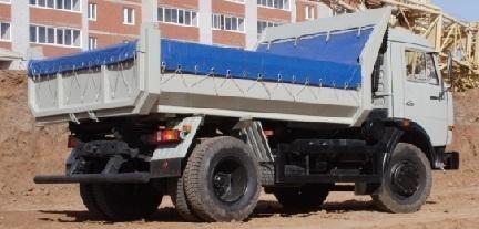 нов камион самосвал КАМАЗ 43255
