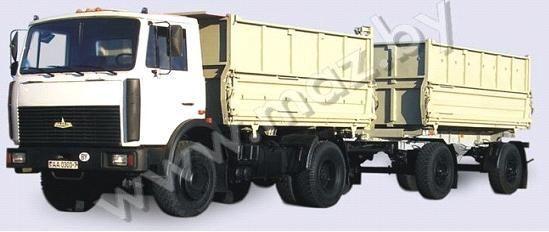 нов камион самосвал МАЗ 5551 (А2, 47 )