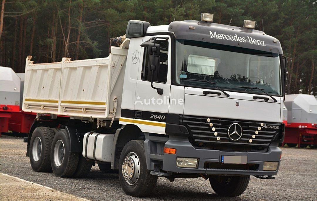 камион самосвал MERCEDES-BENZ ACTROS 2640