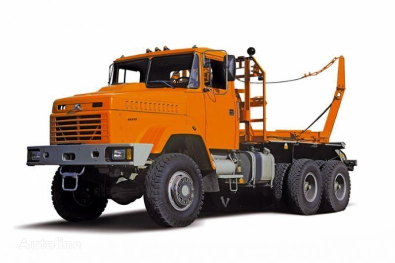 транспорт на дървесина КРАЗ 64372 тип 2