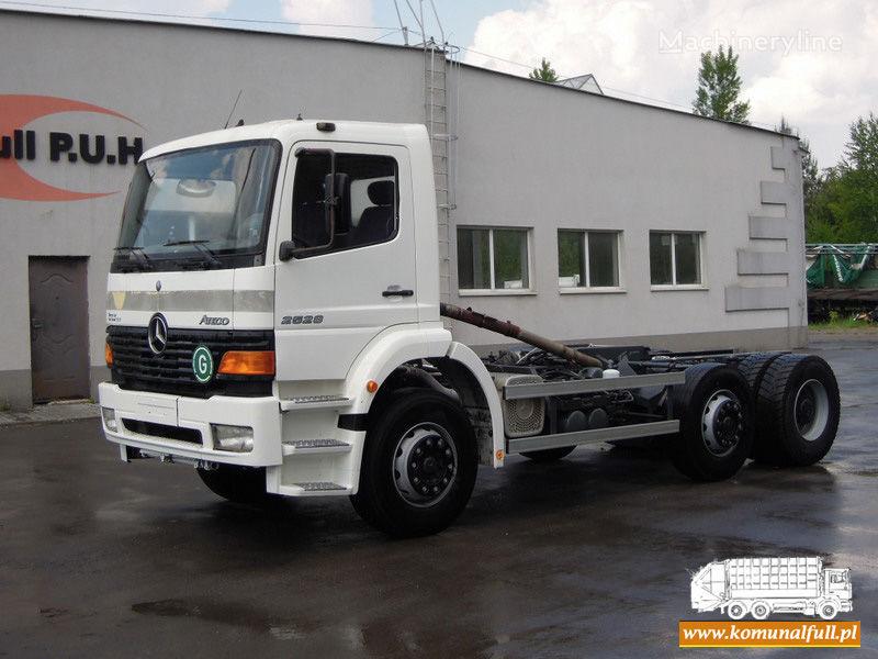 боклукчийски камион MERCEDES-BENZ Atego 2528