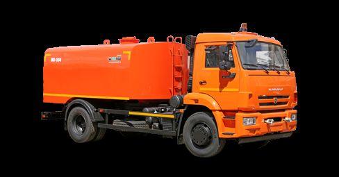 камион за отпушване на канали КАМАЗ Каналопромывочная машина КО-514