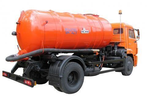 каналопочистваща машина КАМАЗ КО-529-13