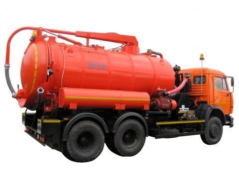 каналопочистваща машина КАМАЗ КО-530-01