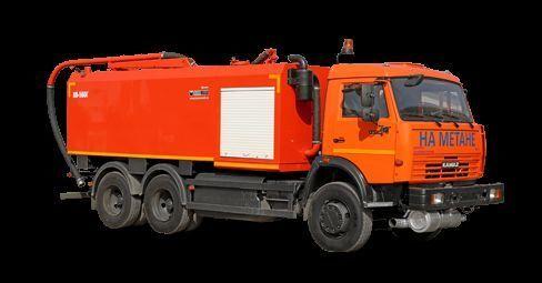 комбинирана каналопочистваща машина КАМАЗ КО-560Г