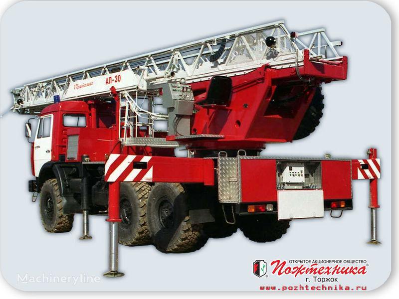 пожарна автостълба КАМАЗ АЛ-30