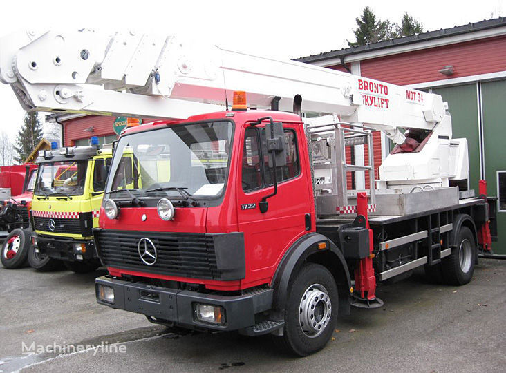 пожарна автостълба MERCEDES-BENZ 1722 4X2WD