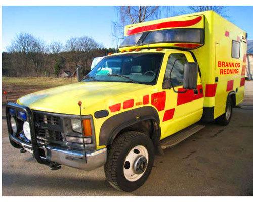 пожарна кола CHEVROLET WD