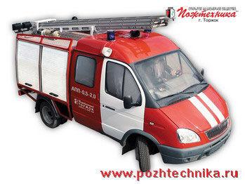 пожарна кола ГАЗ АПП-0,5-2,0 Автомобиль первой помощи