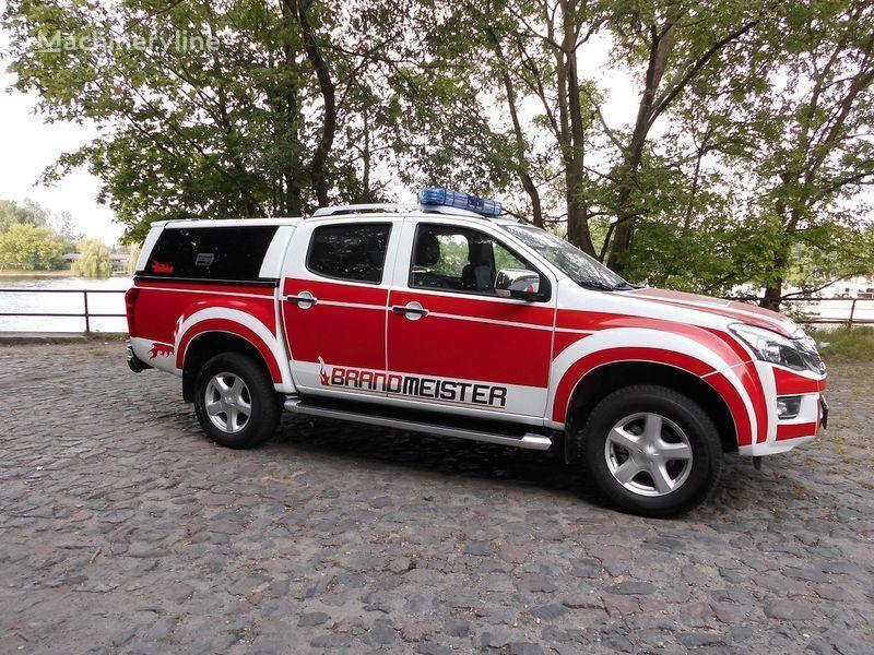 пожарна кола ISUZU D-MAX Löschfahrzeug, Einsatzleitfahrzeug, Vorausfahrzeug