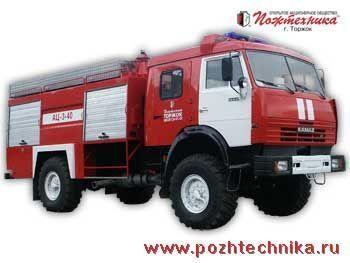 пожарна кола КАМАЗ АЦ-3-40