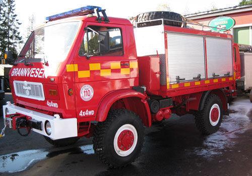пожарна кола MAN 8.150, 4x4 WD