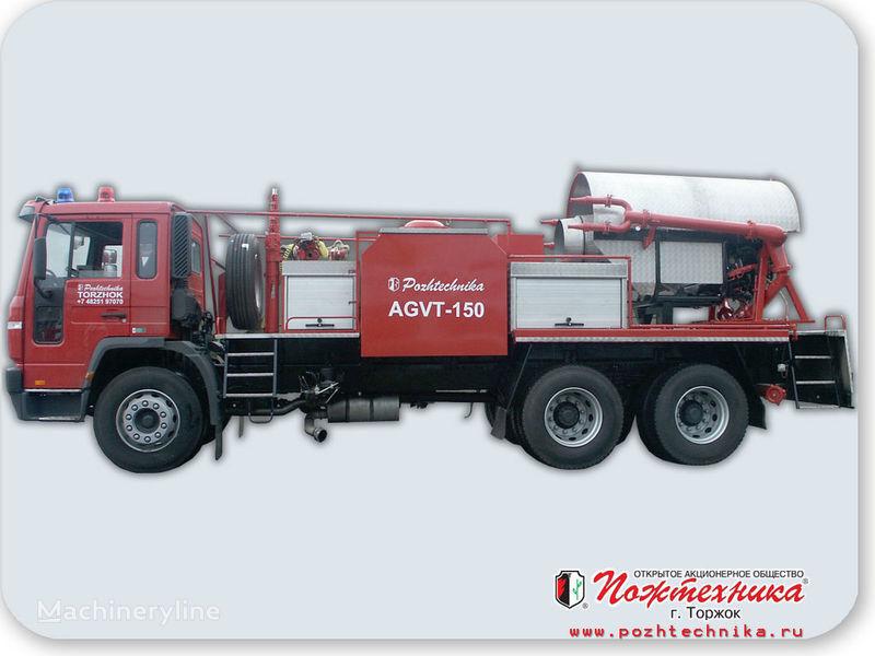 пожарна кола VOLVO АГВТ-150 Автомобиль газового тушения