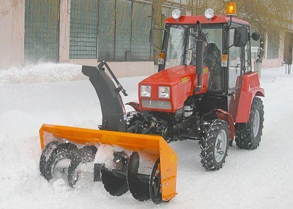 снегорин МТЗ Шнеко-роторный на МТЗ 320