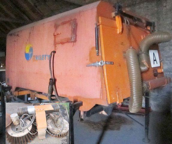 четка 3.5 m3 zametač nástavba Trilety MKV (hydraulic