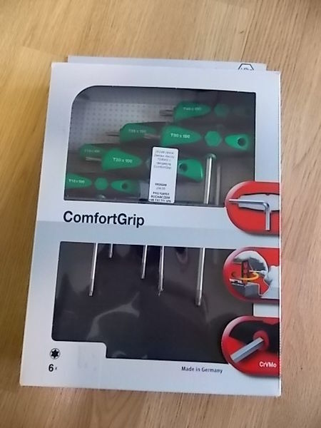 инструмент за авторемонт Zestaw kluczy TORX z rękojeścią ComfortGrip.