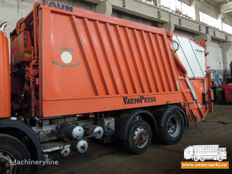 каросерия за боклукчийски камион FAUN