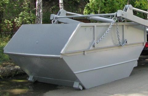 нов контейнер за строителни отпадъци КО-450.08.00.000