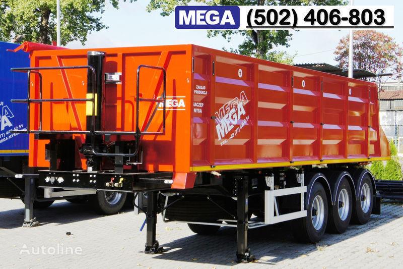 нов полуремарке самосвал MEGA 28/8360 кcc - cамосвал 30 куб.м., paмa к тягачу 6x4, клапан!