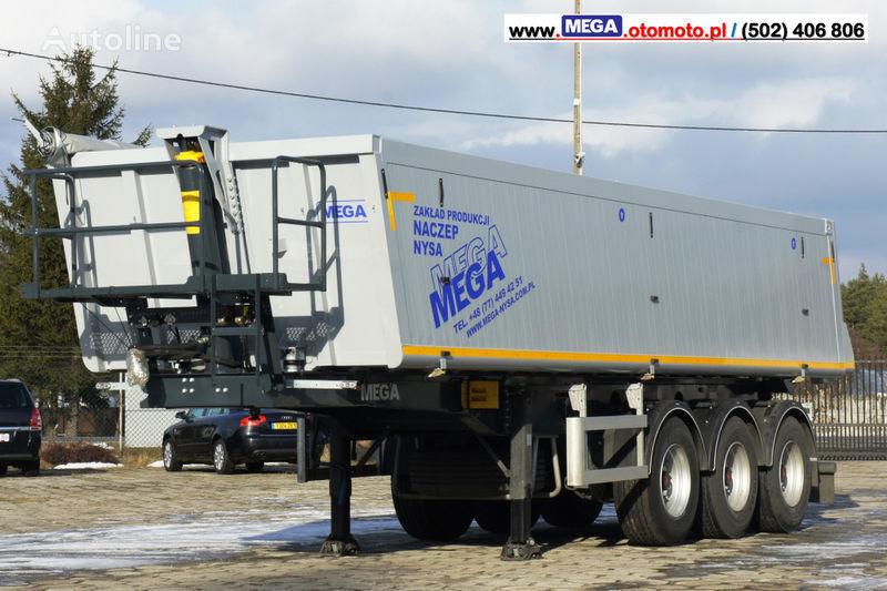 нов полуремарке самосвал MEGA 30 m³ - SUPER LIGHT - 5,300 KG - SUPER PRICE !!! READY !!!