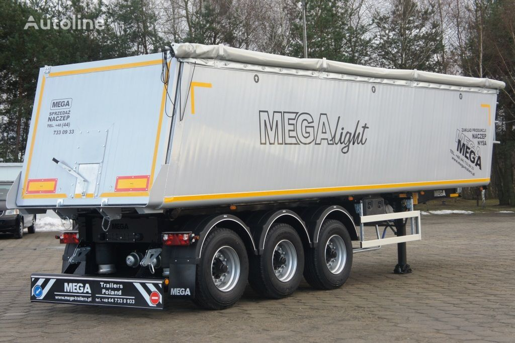 нов полуремарке самосвал MEGA 42 - 35 m³ - aluminum tipper