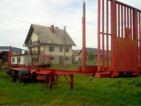 полуремарке транспорт на дървесина IWTHL SCHLUTUP FS 4020