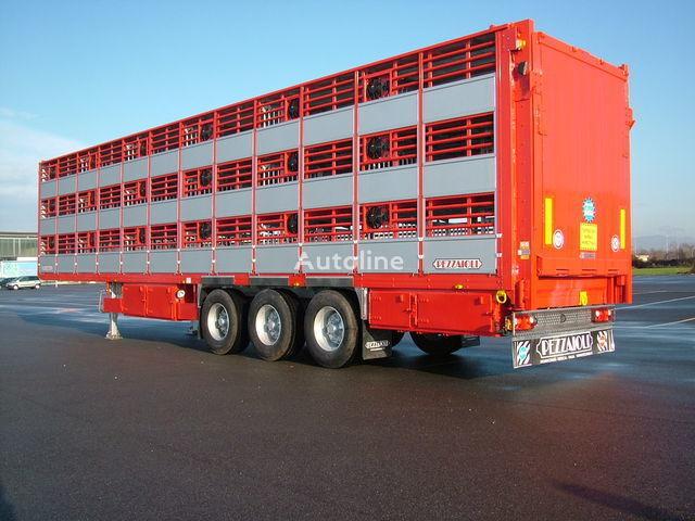нов полуремарке за превоз на животни PEZZAIOLI SBA63