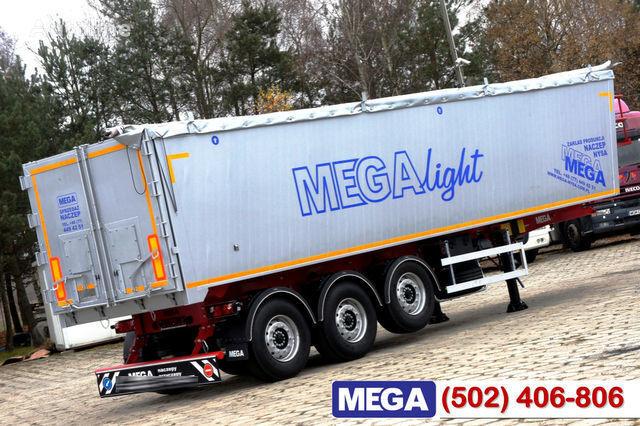 нов полуремарке за превоз на зърно KARGOMIL 42 - 45 m³ Alubox - ULTRA - light only 5,800 kg weight ! READY T