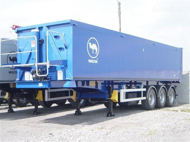 нов полуремарке за превоз на зърно WIELTON NW - 3 (50m3)
