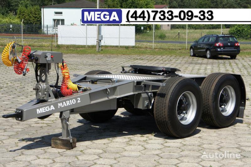 нов ремарке dolly MEGA 2015 SALE !!! 2 Achsen Dolly fur Kipper mit Hydraulik - BEREIT !