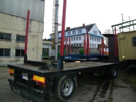 ремарке транспорт на дървесина TRAILOR R 202 EN 3 L