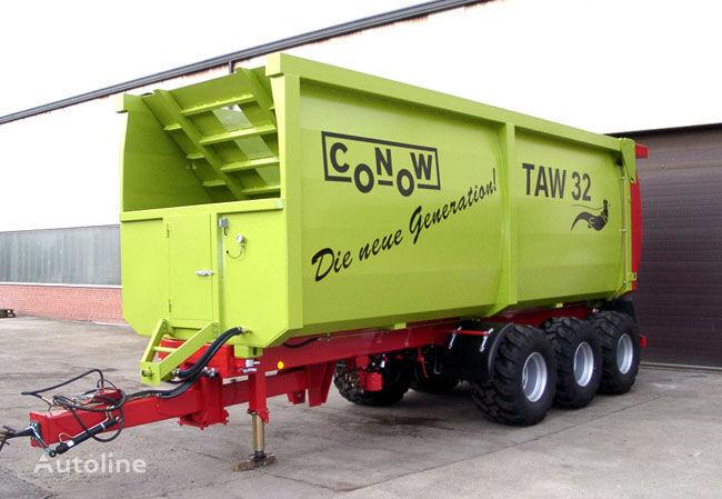 нов ремарке за превоз на зърно CONOW TAW 32