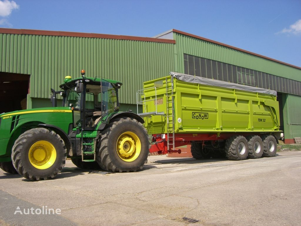 нов ремарке за превоз на зърно CONOW TDK 32