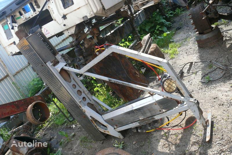 ауспух  Система газовывода за влекач DAF XF,CF