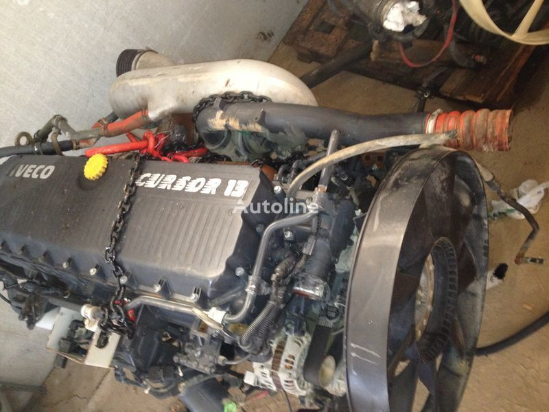 двигател  Iveco F3BE0681 E3 von PS 440/480/540 Cursor 13 за камион IVECO Cursor/Stralis/Trakker Euro 3 S44-S48-S54