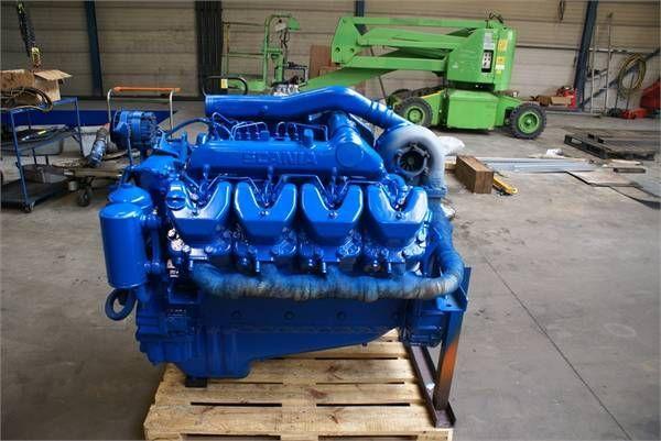 двигател за друга строителна техника SCANIA DSC 14 01