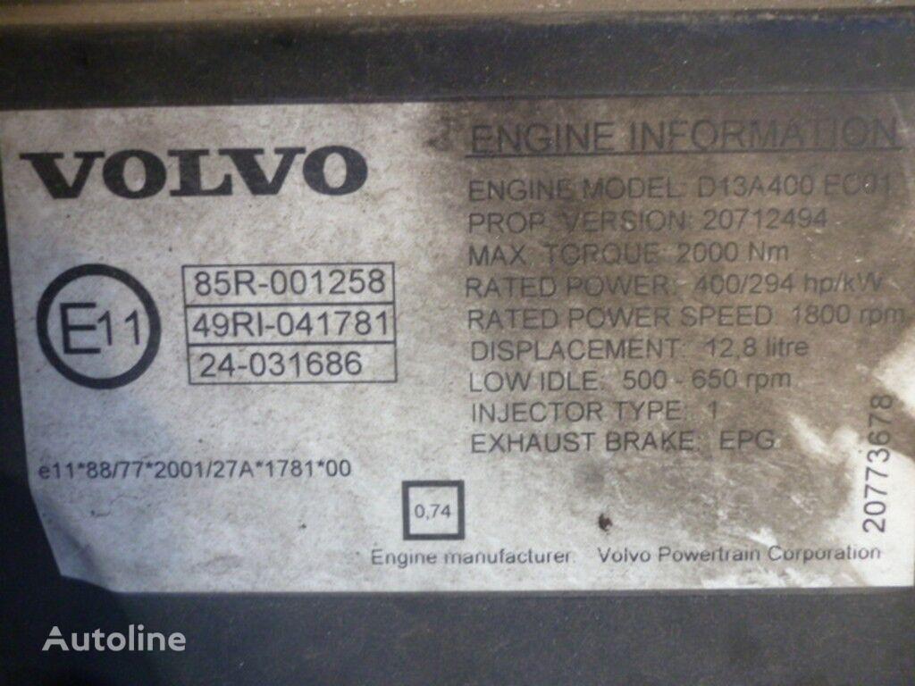 двигател  Volvo D13A400 EC01 за камион VOLVO