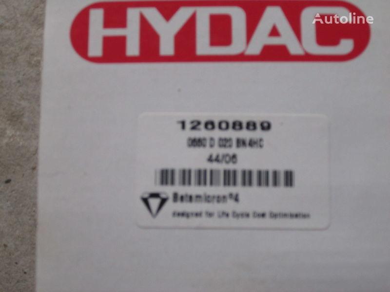нов хидравличен филтър  Німеччина Hydac 1260889 за багер
