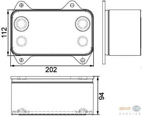 нов охлаждане на двигателя радиатора  DAF 1667565.8MO376733421 за влекач DAF